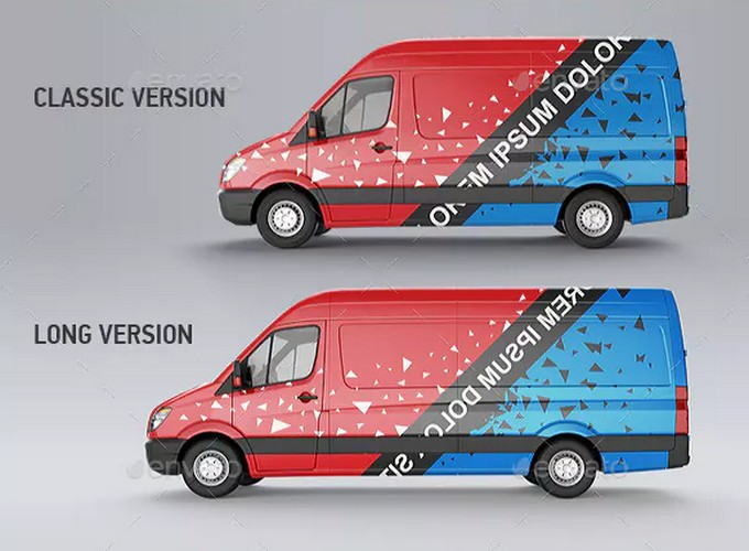Photostatic Van Mock-Up