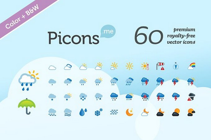 Picons Weather icons