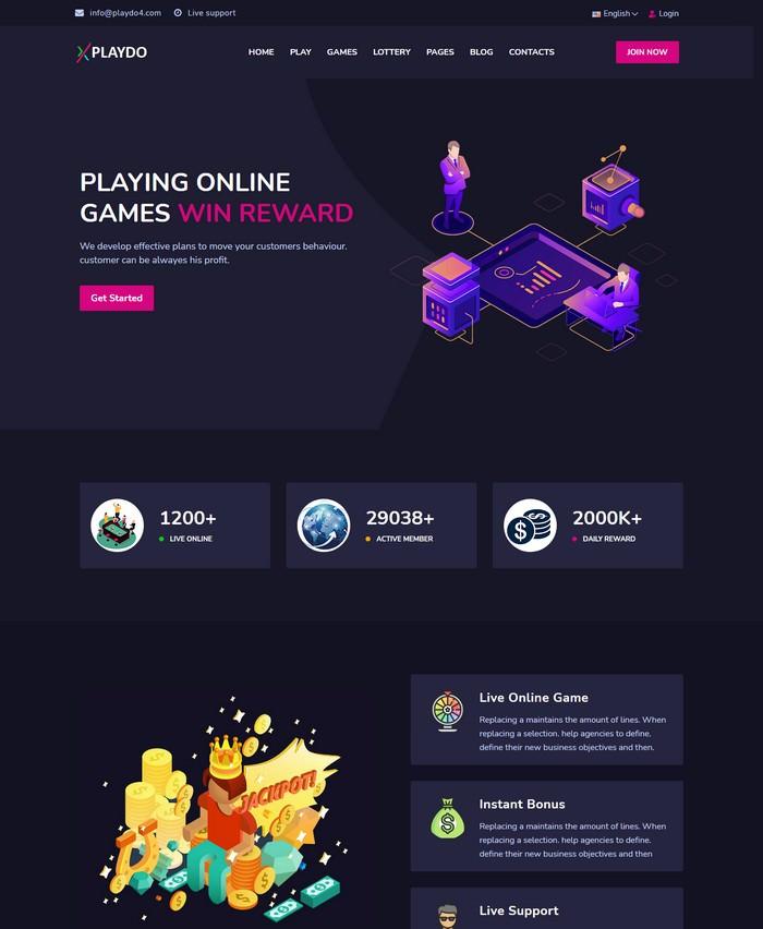 Playdo- Live Gaming