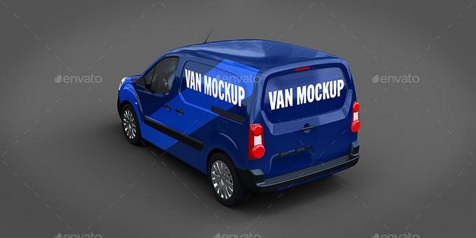 Premium Van Mockup