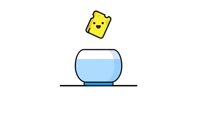 Pure CSS Sponge
