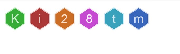 Pure CSS3 Hexicons