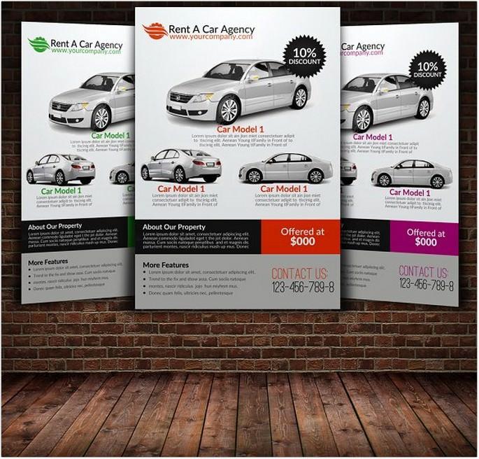 Car Flyer Template 2