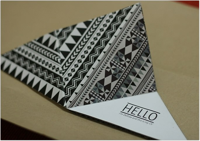 Resume Visiting Card