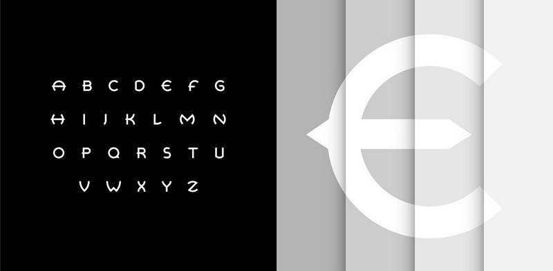 Retrospective Typeface