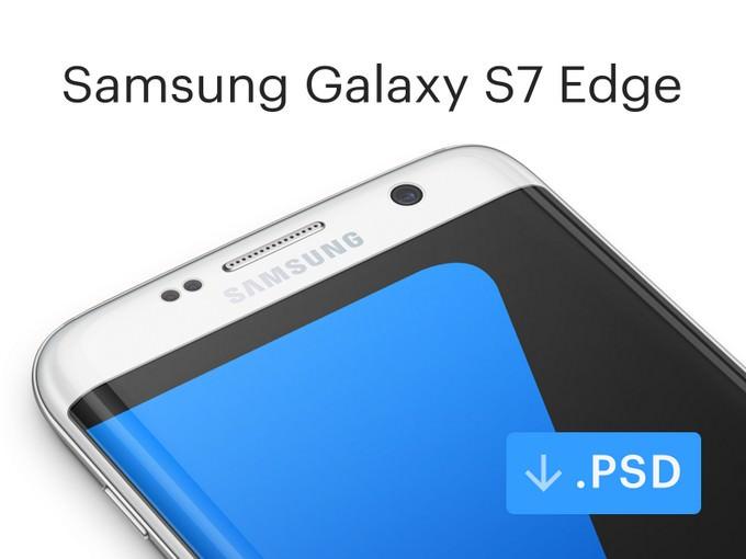 Samsung Galaxy Android Mockup PSD