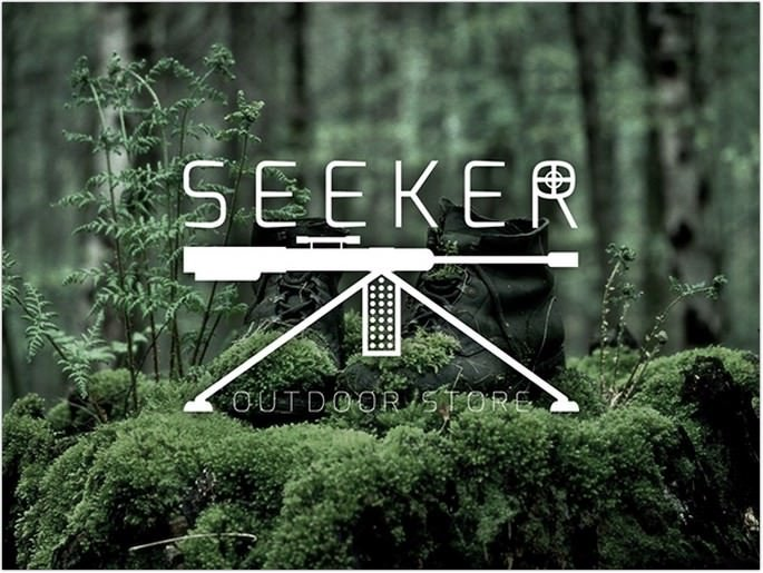 Seeker Outdoor Store Logo