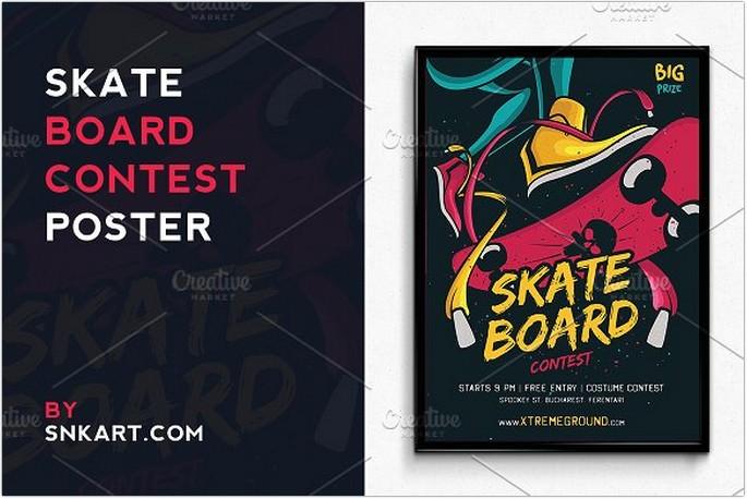 Skateboard Halloween Contest
