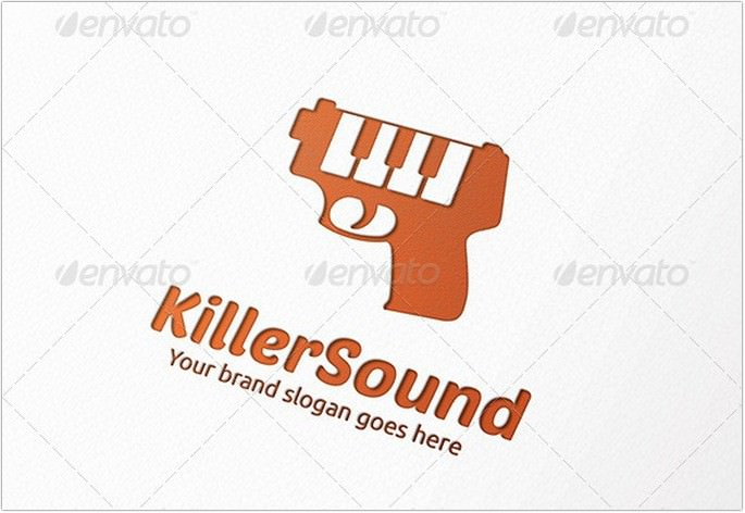 Sound Gun Logo Design