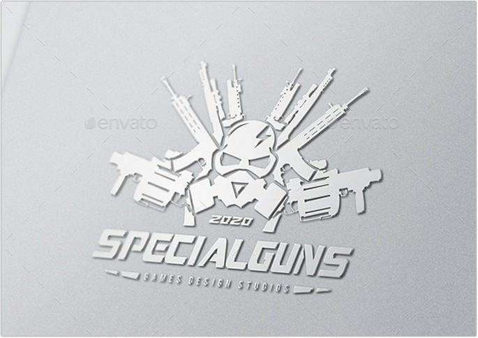 Special Gun Logo Design