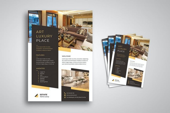 Special Interior Furniture Flyer
