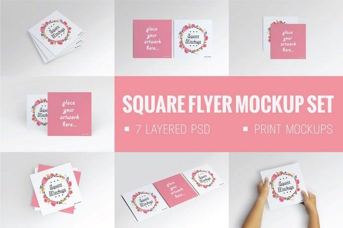 Square Flyer Mock-Up