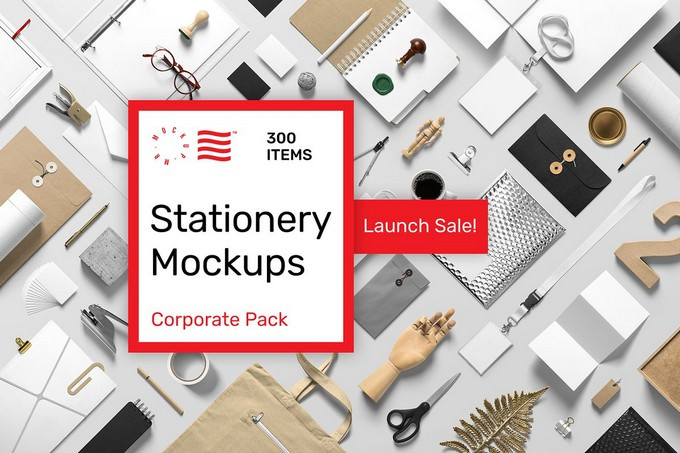 Stationery Mockup Corporate Pack