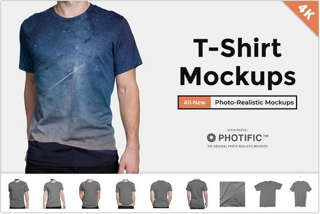 T-Shirt - Apparel Mockup PSD