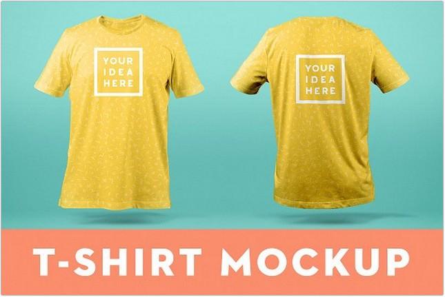 90 Amazing T Shirt Mockup Psd Templates 2019 Templatefor