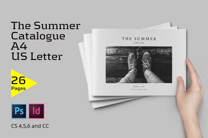 The Summer Catalogue Template