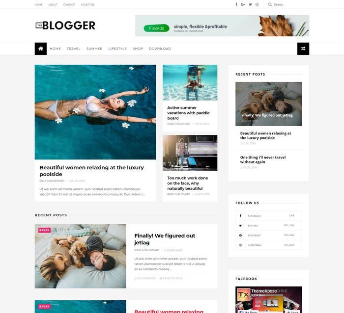 TheBlogger Responsive Blogger Template