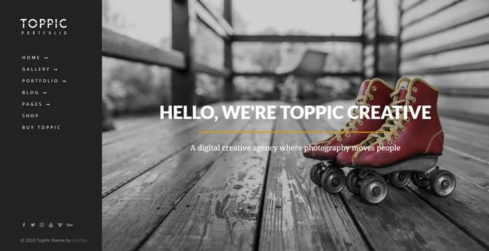 TopPic - Portfolio Photography Theme