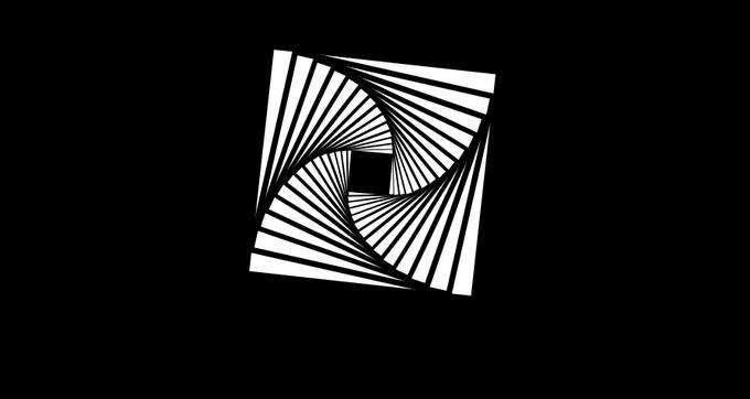 Twisty Square CSS Animation