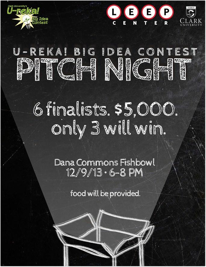 U-reka! Big Idea Contest Flyer