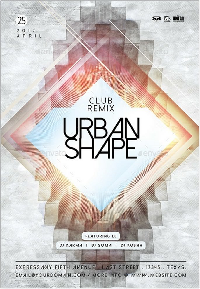 Urban Shape Flyer