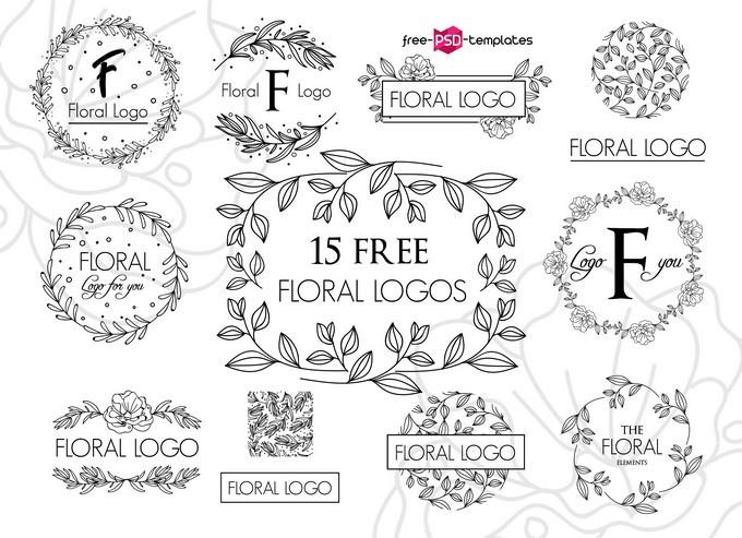 Vector Floral Logos