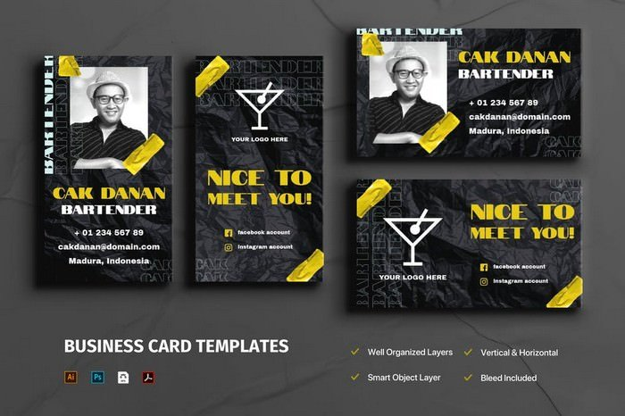 Visiting Cards Template
