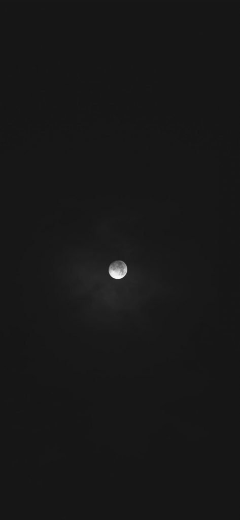 iPhone Black Wallpapers Moon-1125x2436