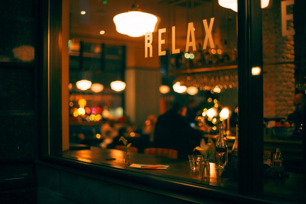 Relax Restaurant Glass Tumblr Background-2560 × 1707