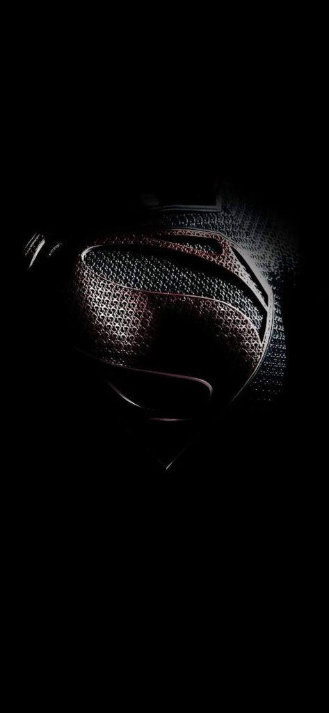 iPhone Superman Logo Black