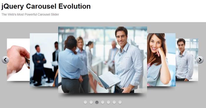 jQuery Carousel Evolution