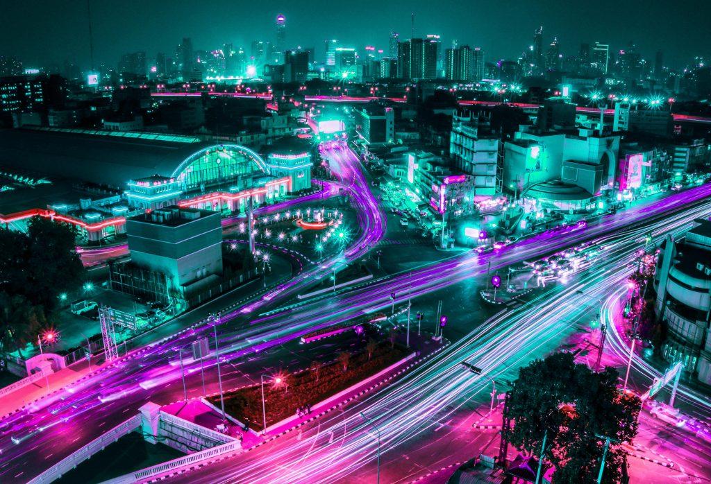 Cityscape HD Night Life Tumblr-2560 × 1745
