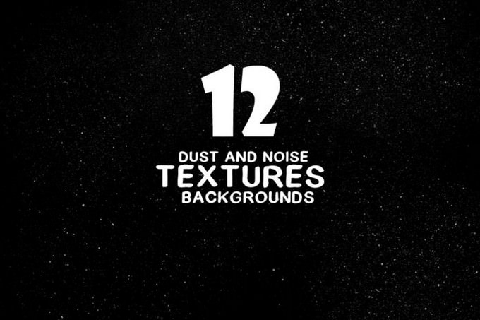 Dust and Noise Textures Backgrounds