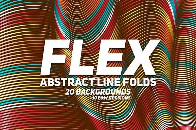 Flex Lines Backgrounds
