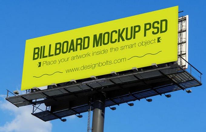 Billboard Hoarding Mockup