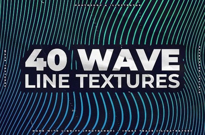 Wave Line Textures