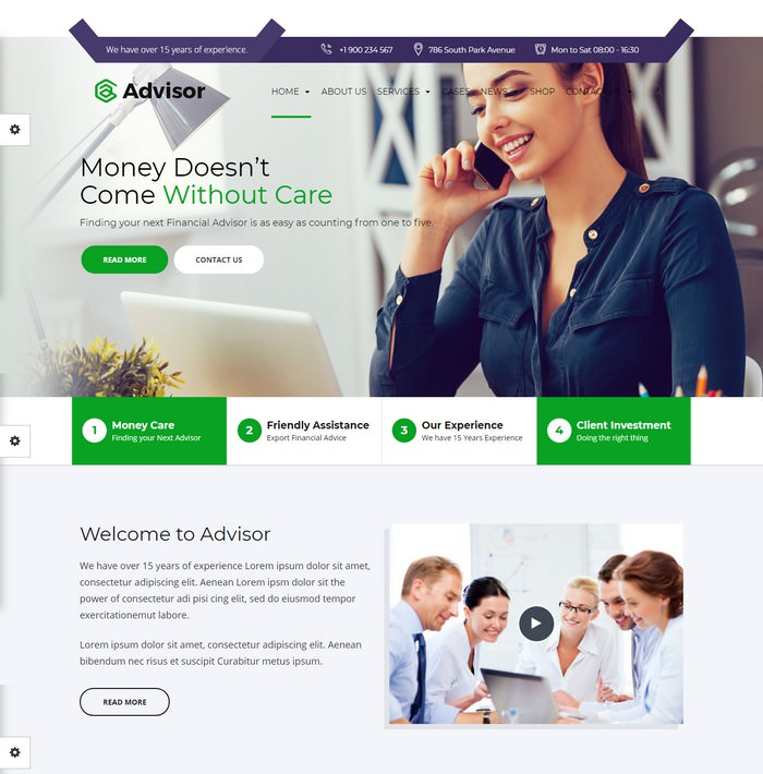 Advisor Consulting Template