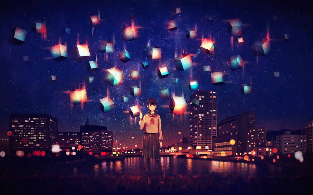 Anime-Girl-in-City-HD-Wallpaper-2560×1600