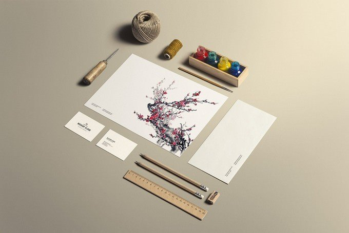 Art & Craft Stationery Branding