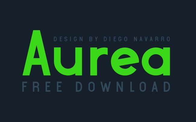 Aurea Free Font