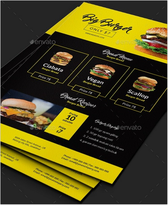 Big Burger Flyer