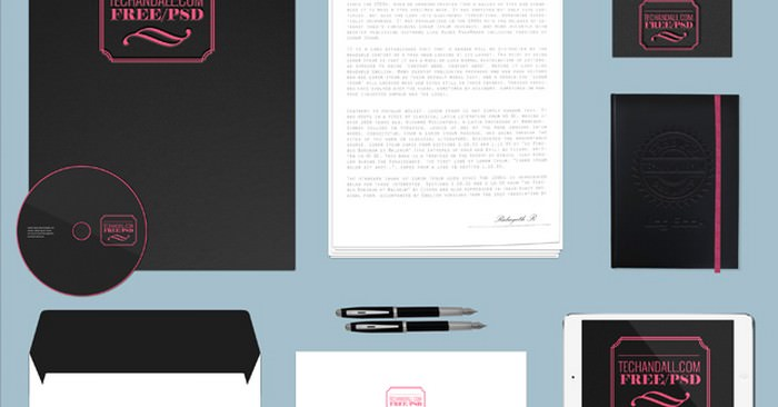 Branding Identity Mockup Vol4 – Simple