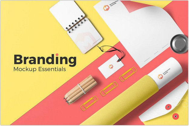 Branding Mockup Essentials Vol. 3