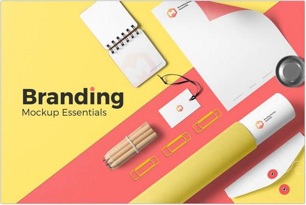 Branding Mockup Essentials Vol. 3