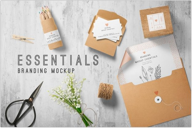Branding Mockup Essentials Vol. 7