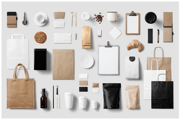 Coffee Stationery Mockup