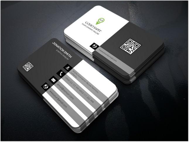 Corporate Business Card Design Bundle mockup