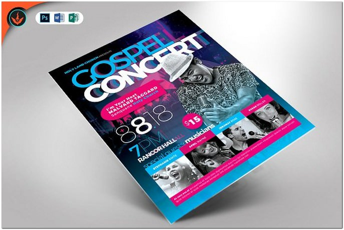 32 best concert flyer psd templates designs 2018 templatefor