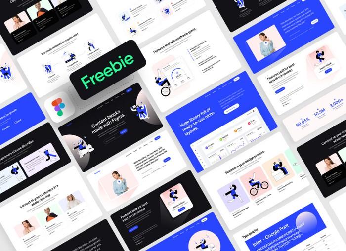 Figma Wireframe Kit