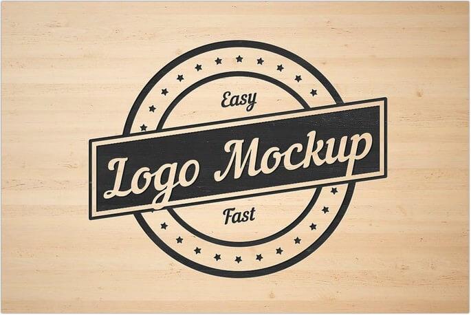 Flat Logo Mockup